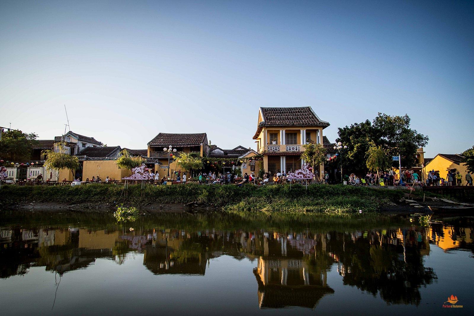 Le port de Hoi An, Vietnam