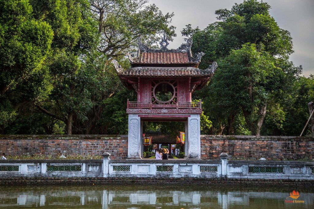 Temple de la Litterature, Hanoi, Vietnam