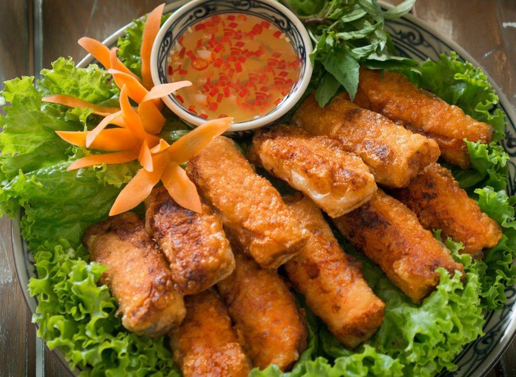 Nem rán, plat asiatique par excellence, Vietnam