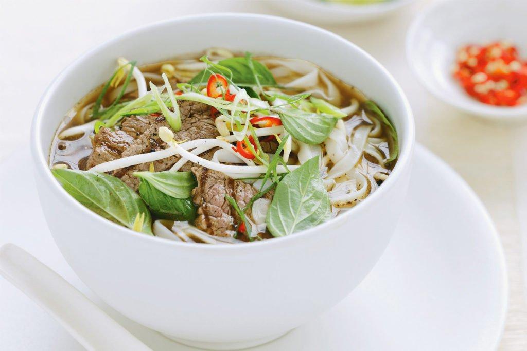 Pho, soupe vietnamienne, plat typique Nord Vietnam